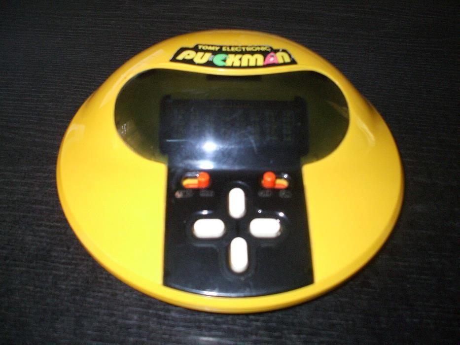 Pac Man Puckman Handheld consola - Tomi - 1980 - ultra rar Santana - imagine 1