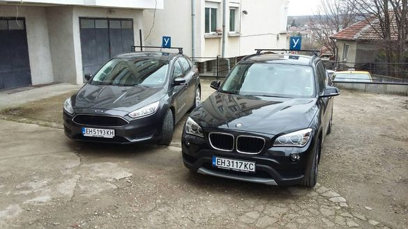Шофьорски курсове BMW X1 Автоматик и FORD FOCUS ръчни скорости