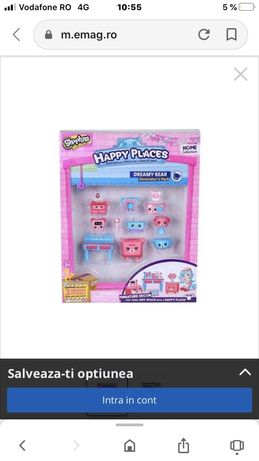 Set jucarie Shopkins Happy Places Dreamy Bear