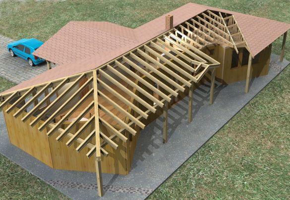 Изграждане-направа на Нов покрив