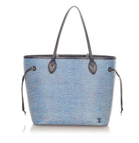 Geantă Louis Vuitton Neverfull Epi Blue MM