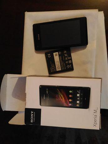 Telefon mobil Sony Xperia M C2005, Dual SIM, Black
