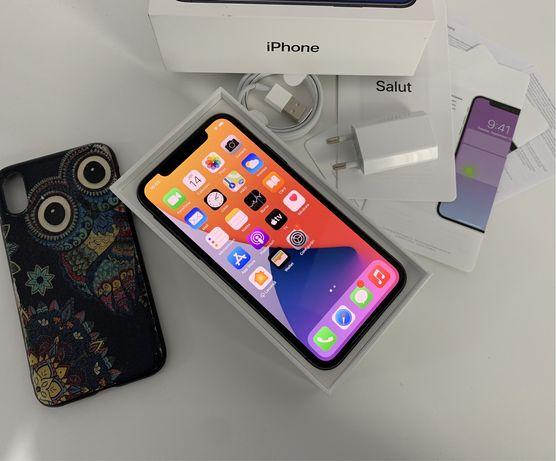iPhone X 64Gb, NeverLocked, La Cutie, Battery 100%
