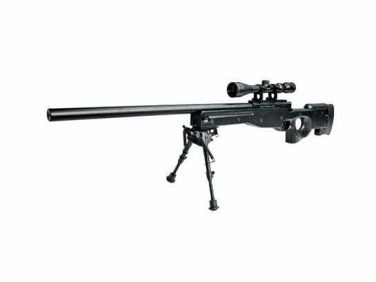 Airsoft Еърсофт снайпер AW .308 Sniper ASG Denmark МЕТАЛЕН