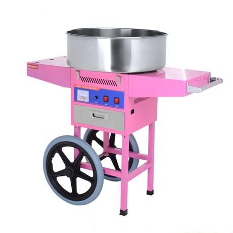 Masina electrica vata de zahar cuva mare cu carucior transport gratuit