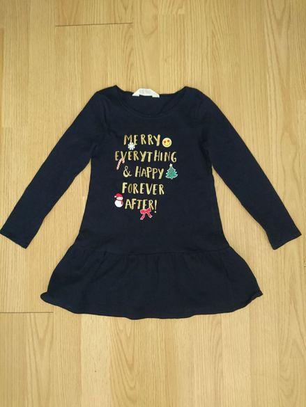 """Коледна рокля """"HM"""" - 4-6 години"""