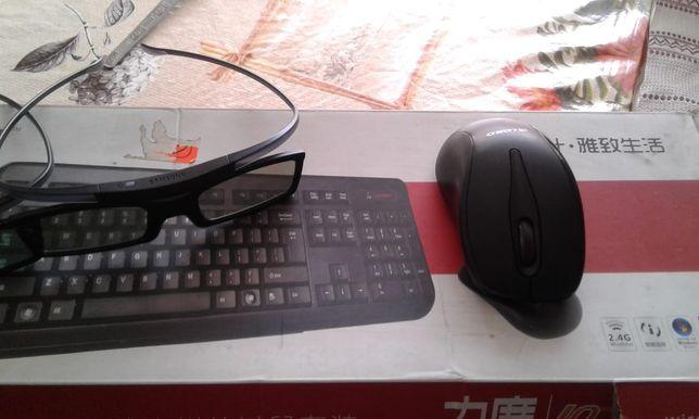 Продам клавиатуру и мышь для телевизора