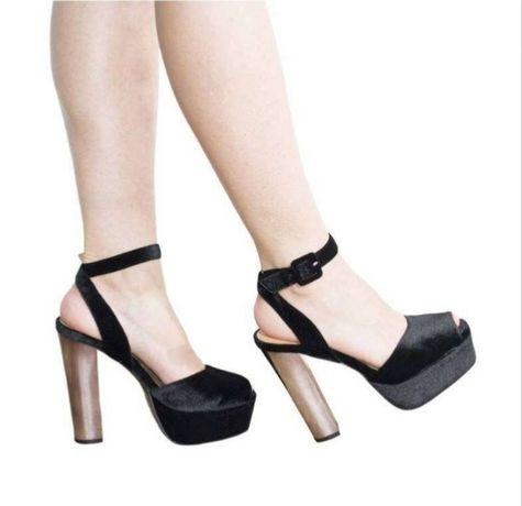 Sandale NOI elegante catifea