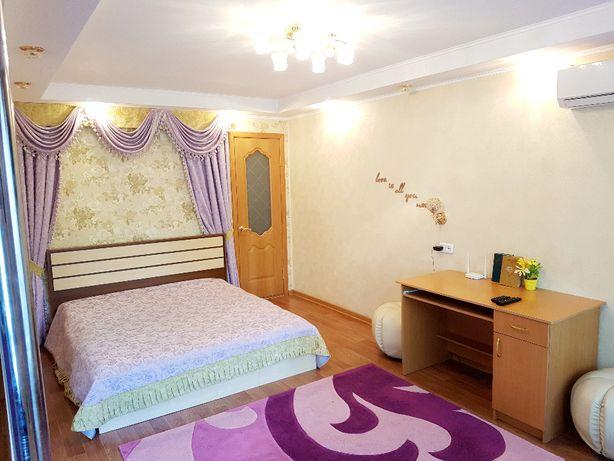 1 комнатная квартира ЛЮКС посуточно (Кинотеатр Казахстан)