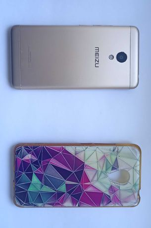 Смартфон Мейзу м3с . Gold. 2Slm.