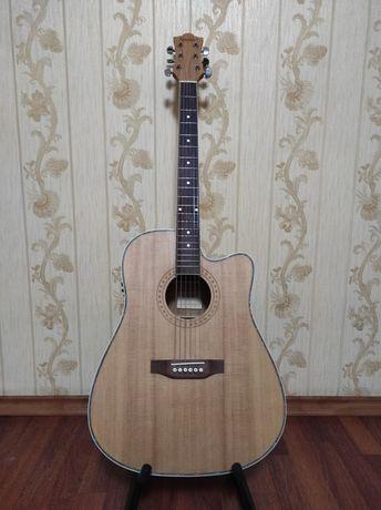 Электроаккустическая гитара Jumbo