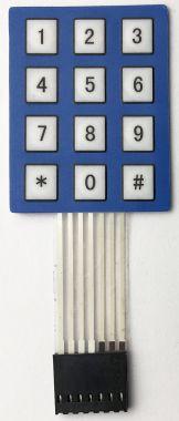 Tastatura numerica, pentru sisteme de acces