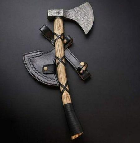 Брадви от дамаска стомана - ръчна изработка