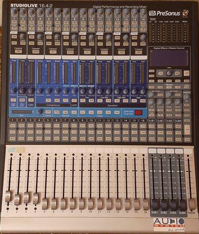 Продам цифровой микшерный пульт Presonus studio live 16.4