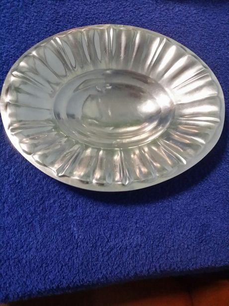 Fructiera argint masiv lucrata manual