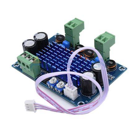 Amplificator de putere 2 X 120 W cu TPA3116D2 , clasa D