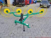 Грабли-ворошилки польские 2,4м 4х колесные Ekiw