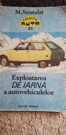 Carte Exploatare de iarnă a autovehiculelor
