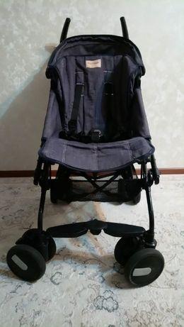 Прогулочная коляска- трость Peg-Perego Pliko Mini Denim, пр-во Италия