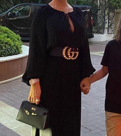 Curele late talie Gucci new model calitate garantată logo metalic