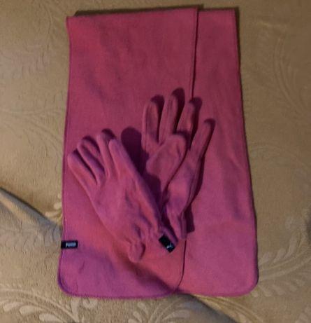 Шал и ръкавици Puma