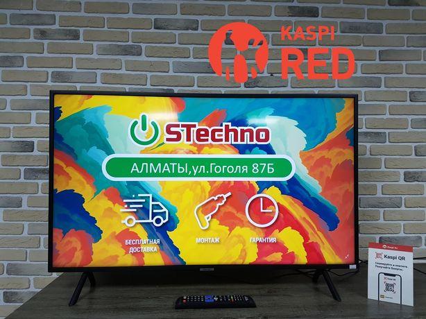 Тв Samsung Smart 4K 109см UE43NU7100 Рассрочка KASPI RED!Гарантия год!
