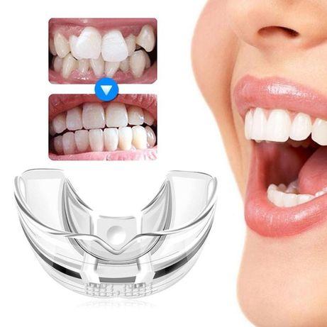 Aparat ortodontic mobil tip gutiera din silicon semi dur, Trainer