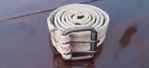 Текстилен колан бежов