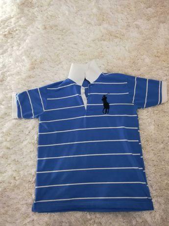 Тениска с яка Polo Ralph Lauren