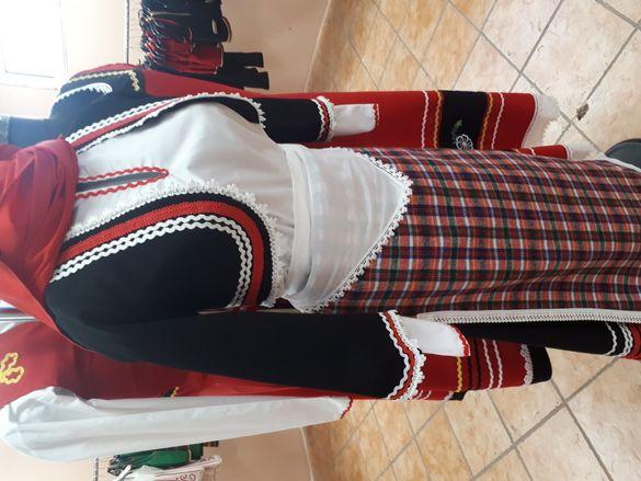 Родопска женска носия