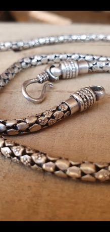 Lant argint stil sarpe- deosebit
