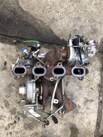 Set turbo turbine biturbo renault master 2.3  opel movano