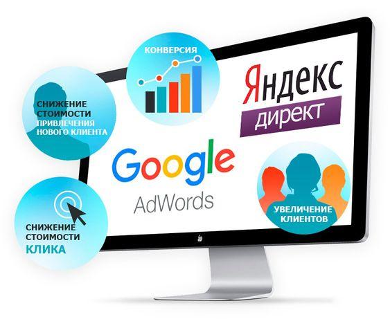 Настройка рекламы в Гугл и Яндекс | Сайты | Таргет | Продвижение