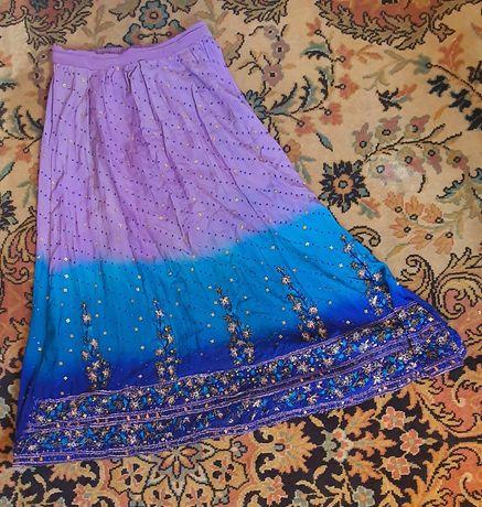 Индийска пола с пайети