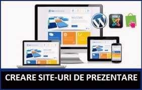 Dezvoltator Web - Creare siteuri de prezentare / Magazin Online