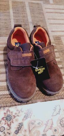 Продам новые замшевые ботинки для мальчика и розовые для девочки