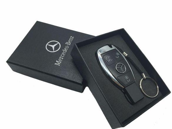 Mercedes Usb flash drive 16 и 32 GB~ Флашка 16 Гб черна