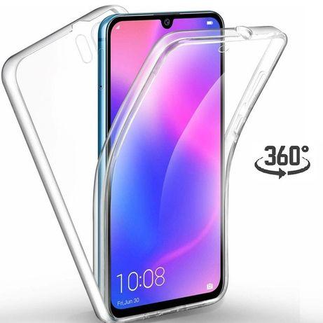 Huawei P30 Lite Pro Husa 360 Plastic Fata Spate Transparenta