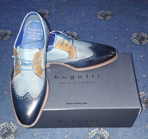 Pantofi Piele Bugatti! Model 2020!