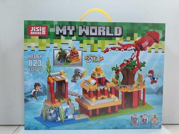 Конструктор Bela Minecraft /Майнкрафт/My world/Большой выбор/Лего/Lego