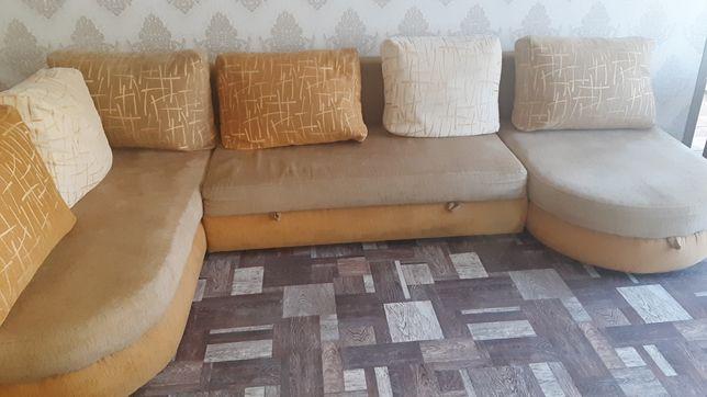 Продам модульный угловой диван