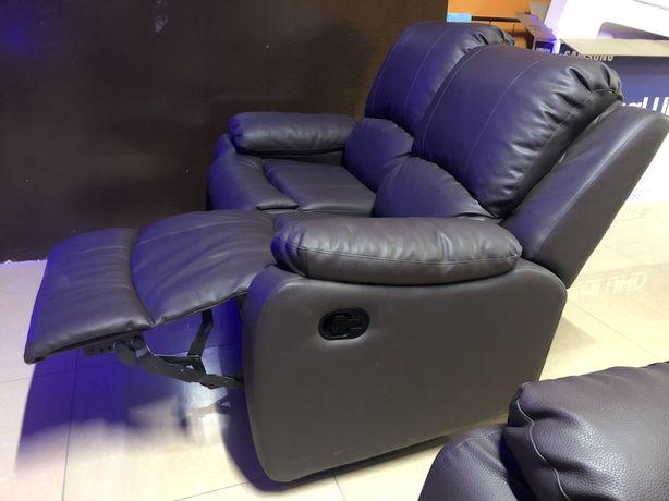 Коженное кресло диван, трансформер