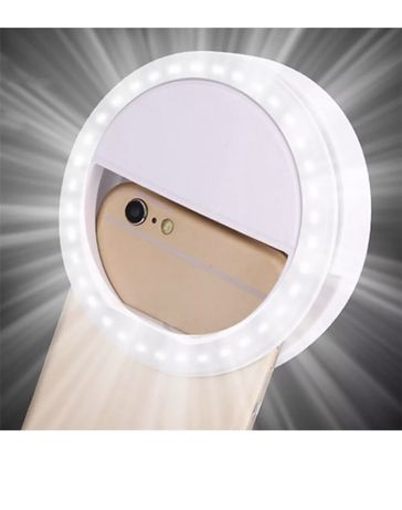 Lampa Led Selfie Telefon Iphone Inel Prindere Lumina Intensitate Blit