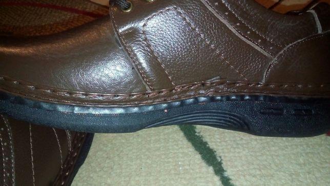 Продам туфли Мужские кожанные демисизон