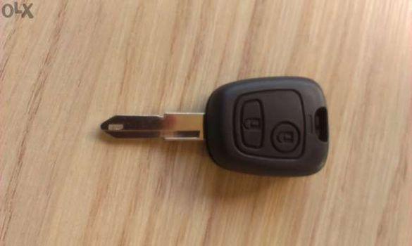 Кутийка за ключ на Peugeot 107, 207, 206, 308, 407, 408, 607