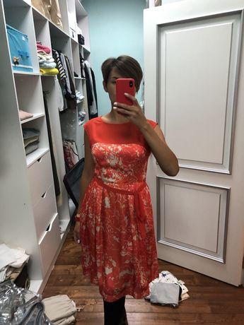 Шёлковое платье Bessini