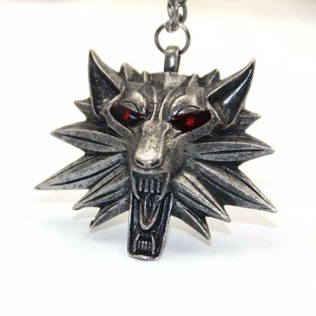 Pandantiv Lantisor Medalion Colier The Witcher Wild Hunt