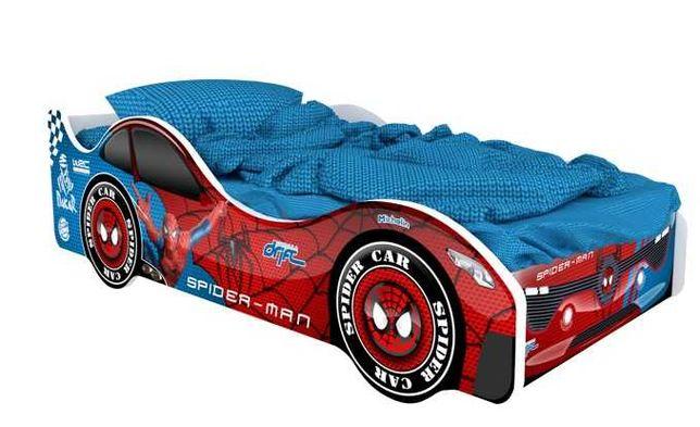 Детская кровать манеж машина