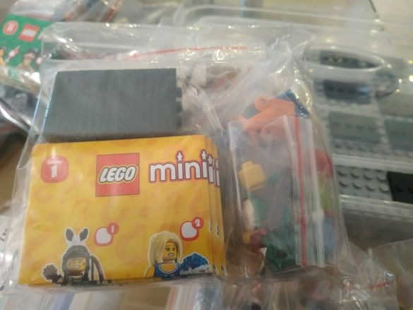 Лего мини фигурки серии от 1ва до 5та lego minifig series ORIGINAL