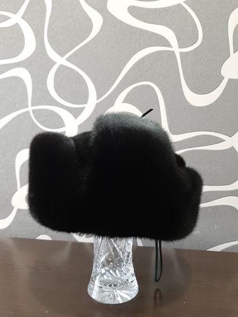 Норковая шапк ушанка